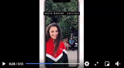 Rocio Moreno seleccionada