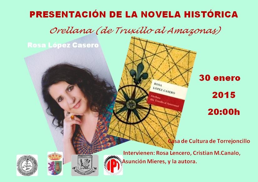 Literatura y teatro unidos en la presentación de la novela de Rosa López