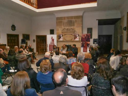 Rosa López en el II Certamen Internacional de Novela Histórica de Úbeda (Jaen)