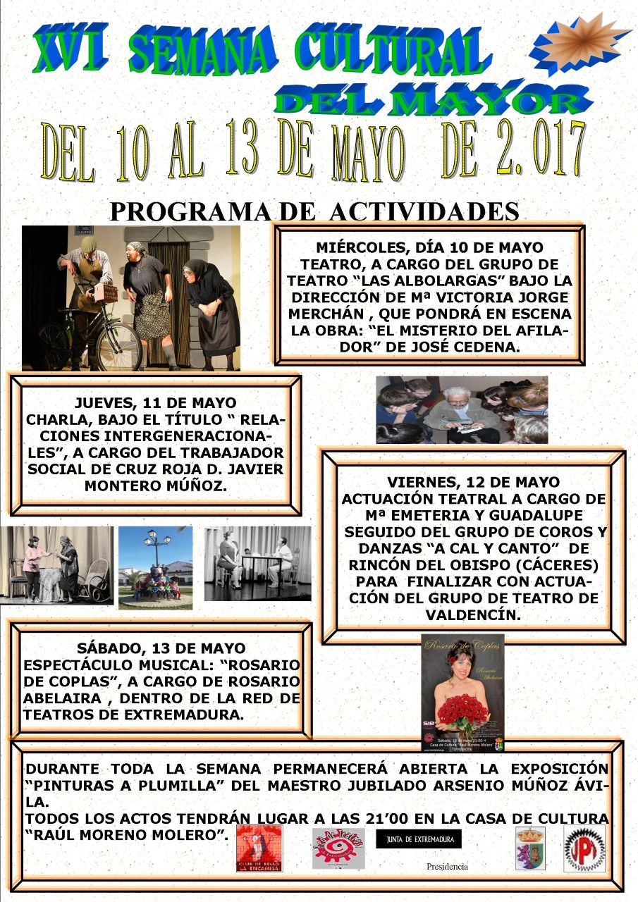 XVI Semana Cultural del Mayor
