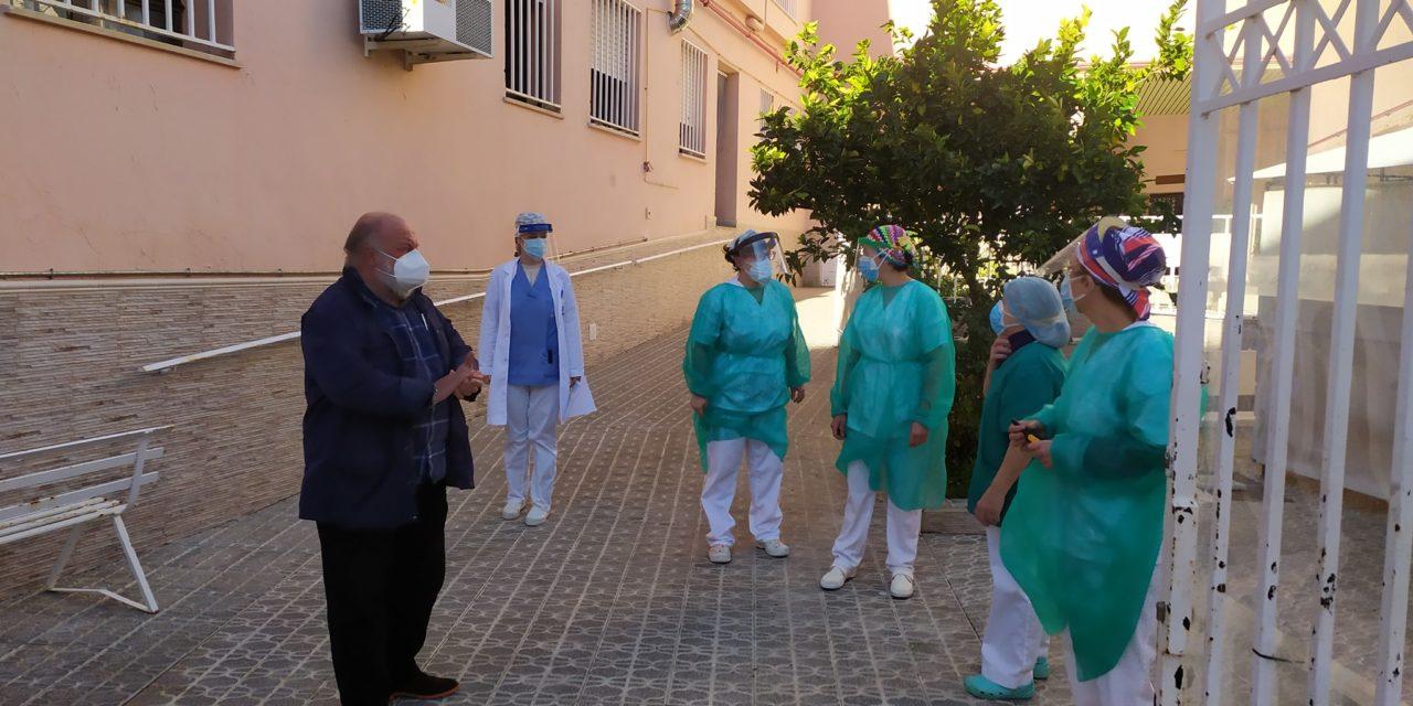 Comienza la vacunación de Covid19 en la Residencia Santa Isabel