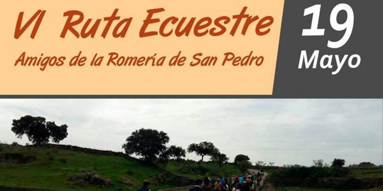 VI Ruta Ecuestre Amigos de la Romería de San Pedro
