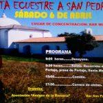 V Ruta Ecuestre a San Pedro