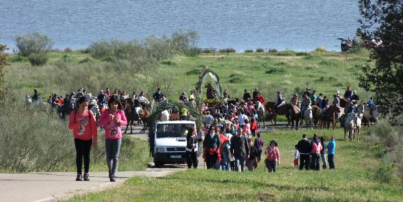 San Pedro a su llegada al Ejido - ISMAEL DUARTE