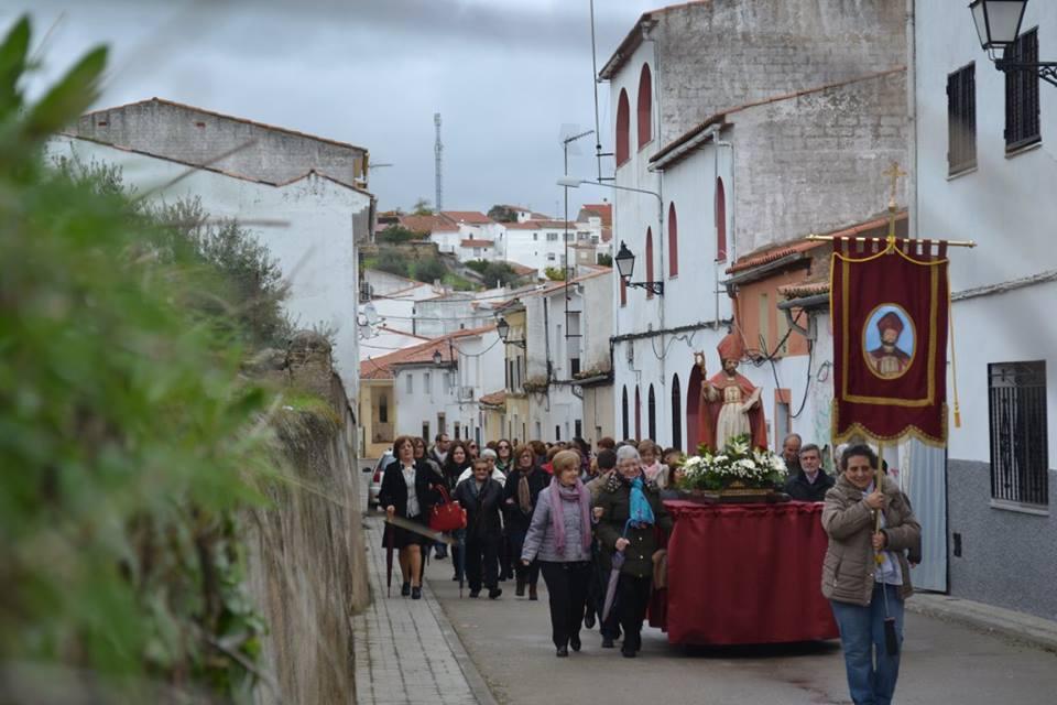 San Saturnino recorre las calles del pueblo.