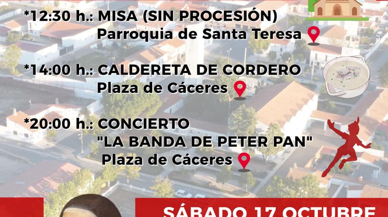 FIESTAS DE SANTA TERESA 2020 EN VALDENCÍN