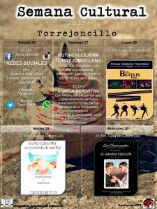 Semana Cultural Torrejoncillana 2015