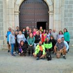 Torrejoncillanos visitan al Cristo de Serradilla