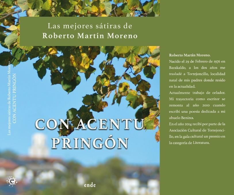 """""""Con acentu pringón"""", el primer libro de poesías de Roberto Martín Moreno"""