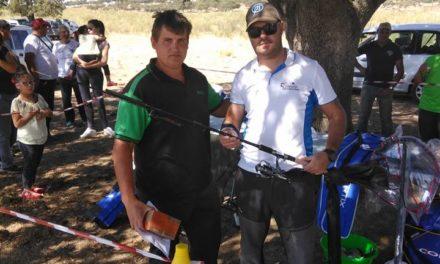 Antonio Domínguez ganador del penúltimo concurso de pesca de la Sociedad de Pescadores Los Encinares