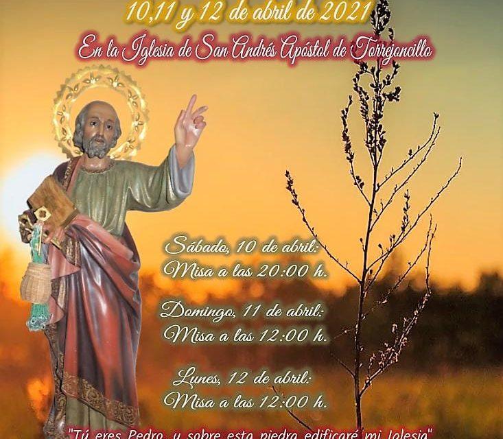 Solemne Triduo en honor a San Pedro Apóstol