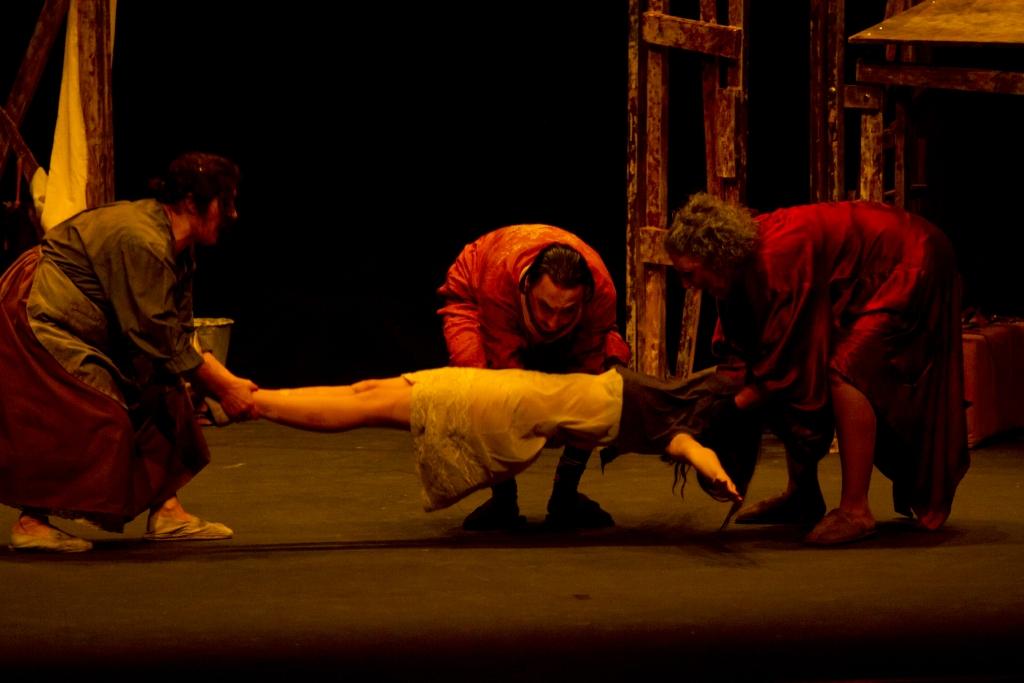 Certamen de Teatro 2013. Sábado, 26 de octubre. Taller de teatro.