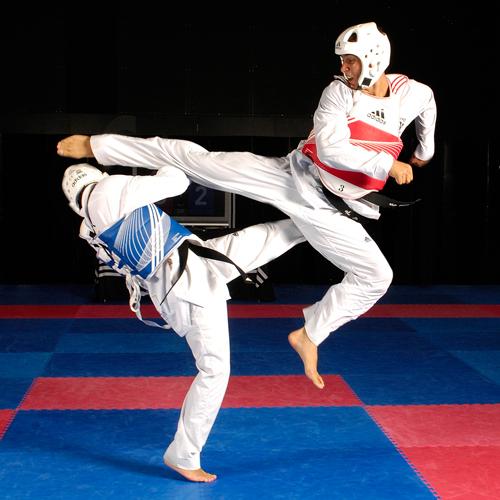 Brathyan Neila en el I Open Internacional de Taekwondo