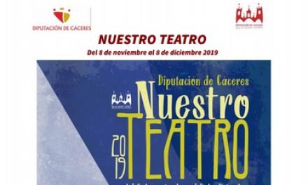 """El teatro profesional llega a 19 localidad dentro del ciclo de la Diputación """"Nuestro teatro"""""""