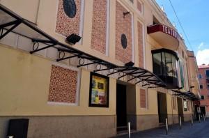 Fachada del Teatro Alkázar de Plasencia - CEDIDA