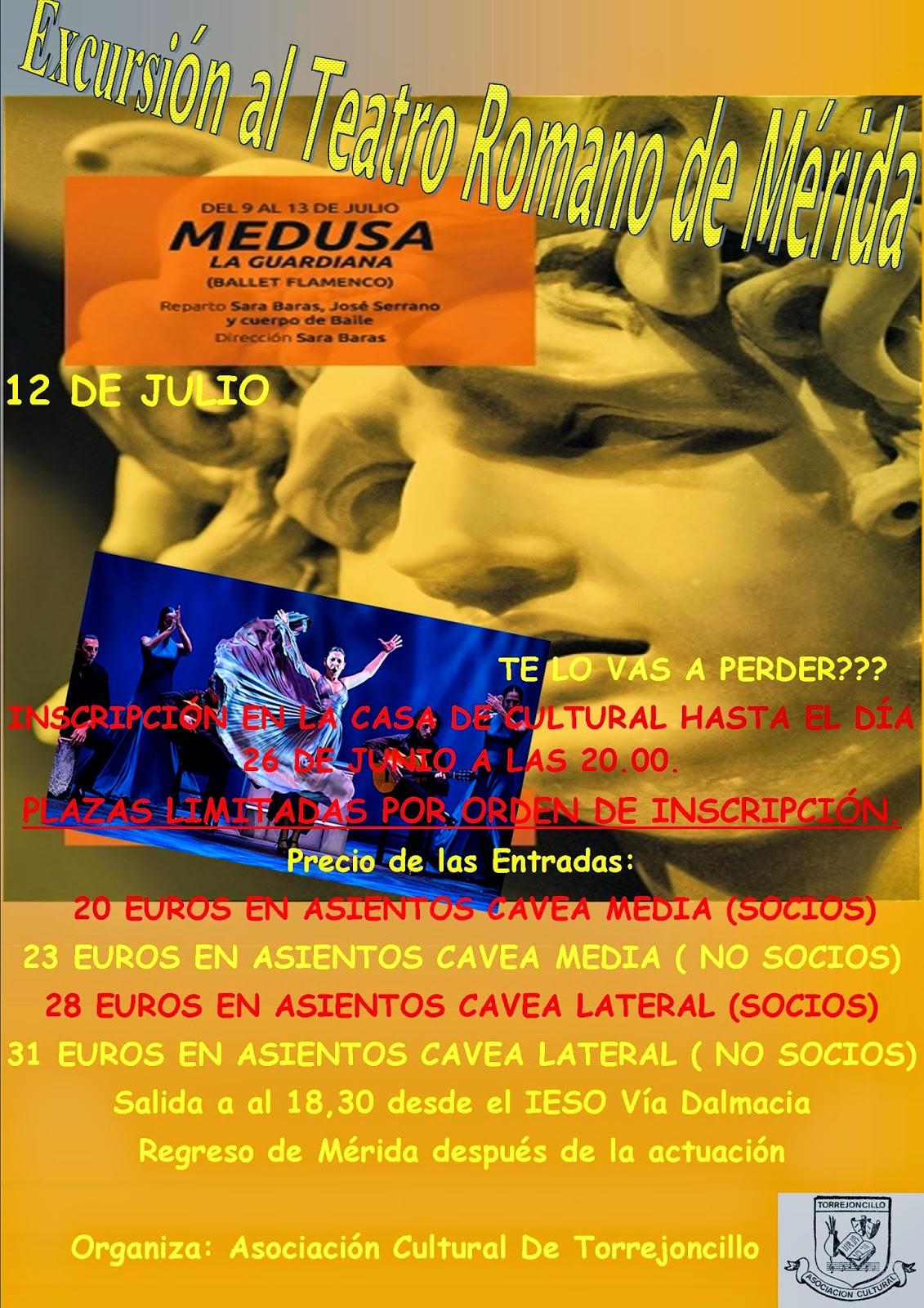 Excursión al Teatro Romano de Mérida