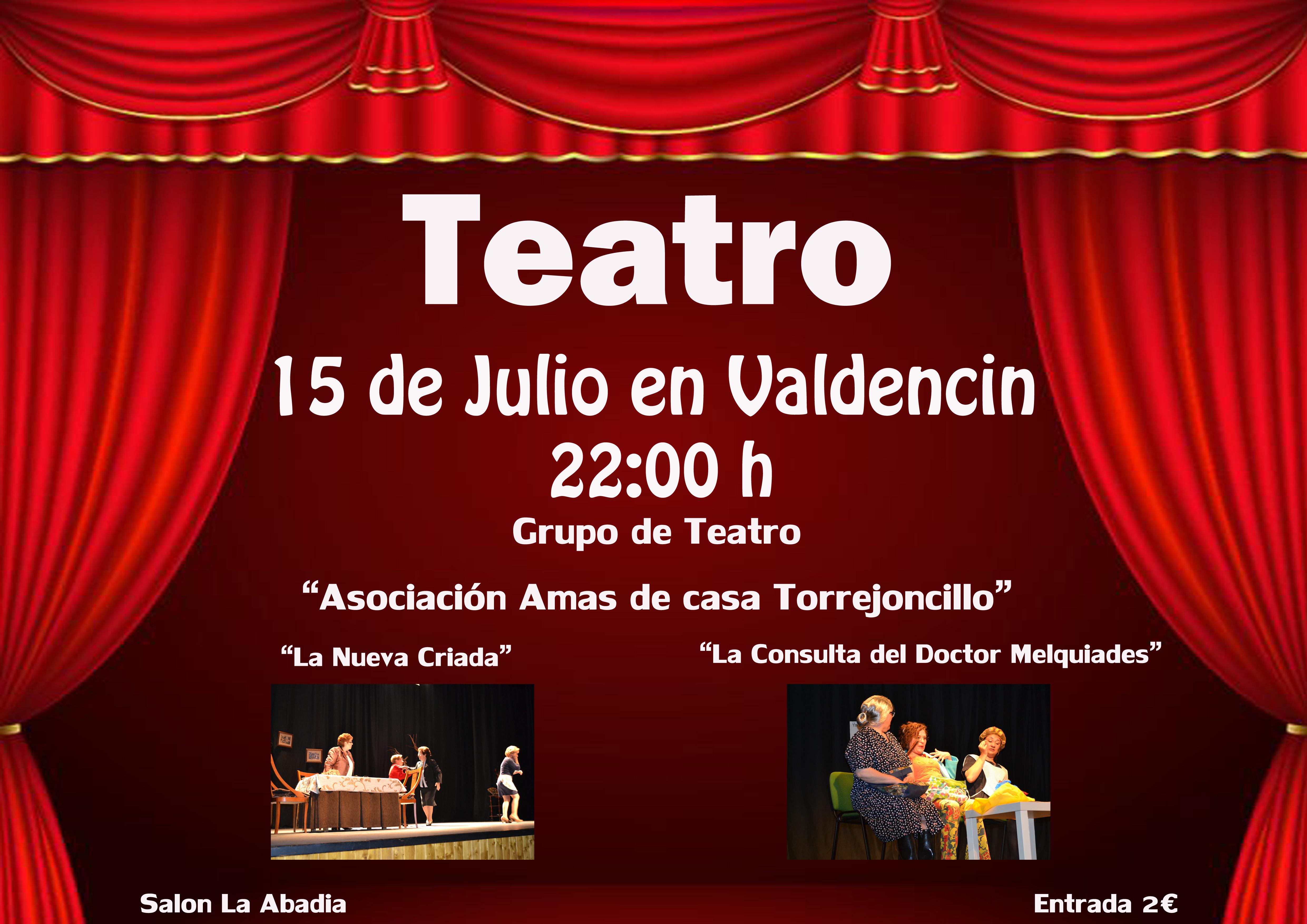 Valdencín respira teatro