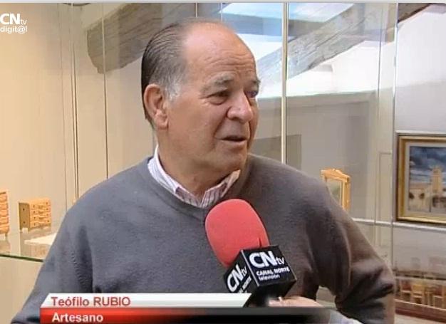 Teófilo Rubio expone su trabajo en el Museo Etnográfico «El Caserón» de San Sebastián de los Reyes
