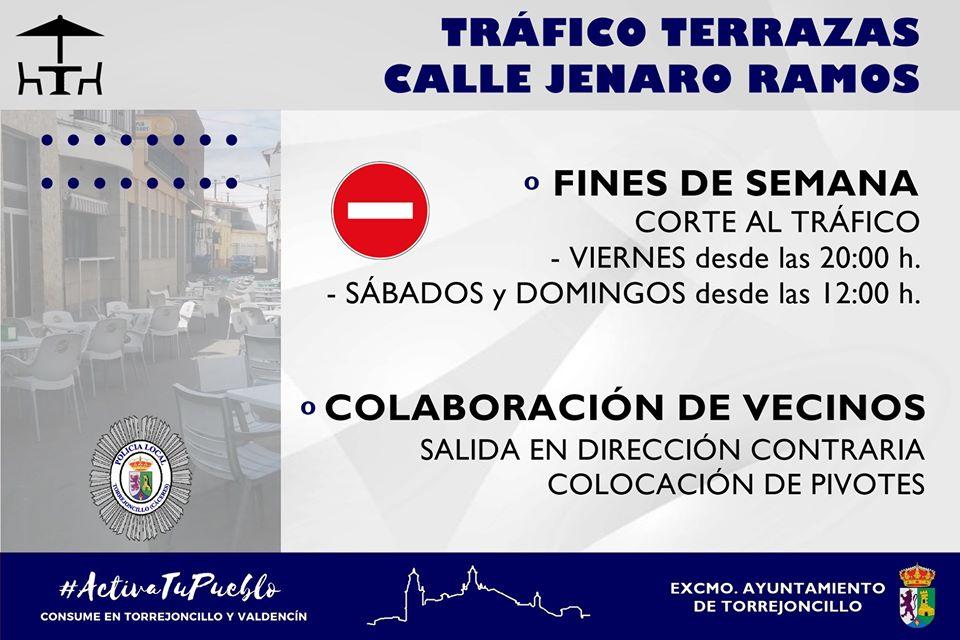 REGULACIÓN DE TRÁFICO EN LAS TERRAZAS DE JENARO RAMOS