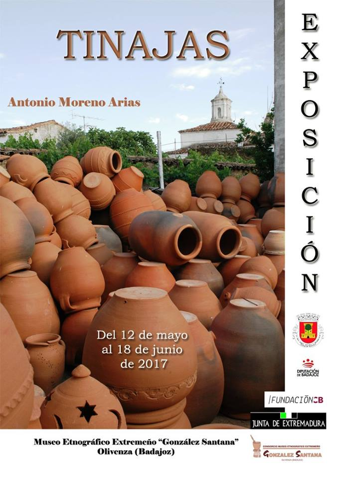 Tinajas Moreno Arias expondrá en Olivenza