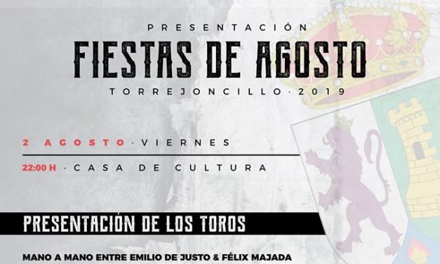 Presentación Fiestas de Agosto de 2019