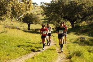 "En Coria tuvo lugar el I Trail Running-Trekking ""Aventúrate en la Dehesa"" - DEPORTES CORIA"