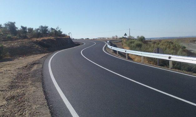 Finaliza el acondicionamiento de la carretera que une Casas de Millán con la N-630 y la A-66