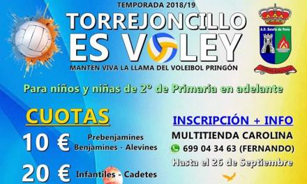 Torrejoncillo es Vóley