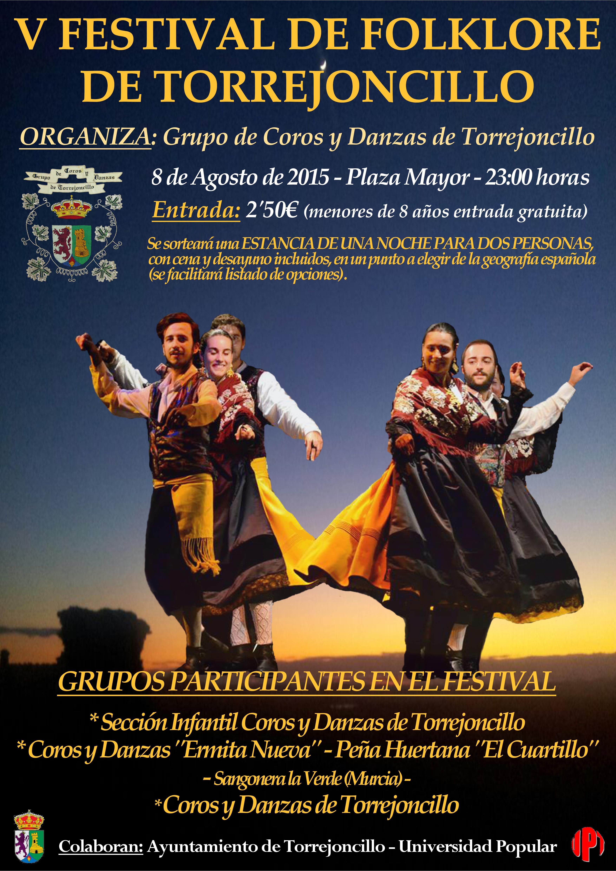 V Festival de Folklore de Torrejoncillo
