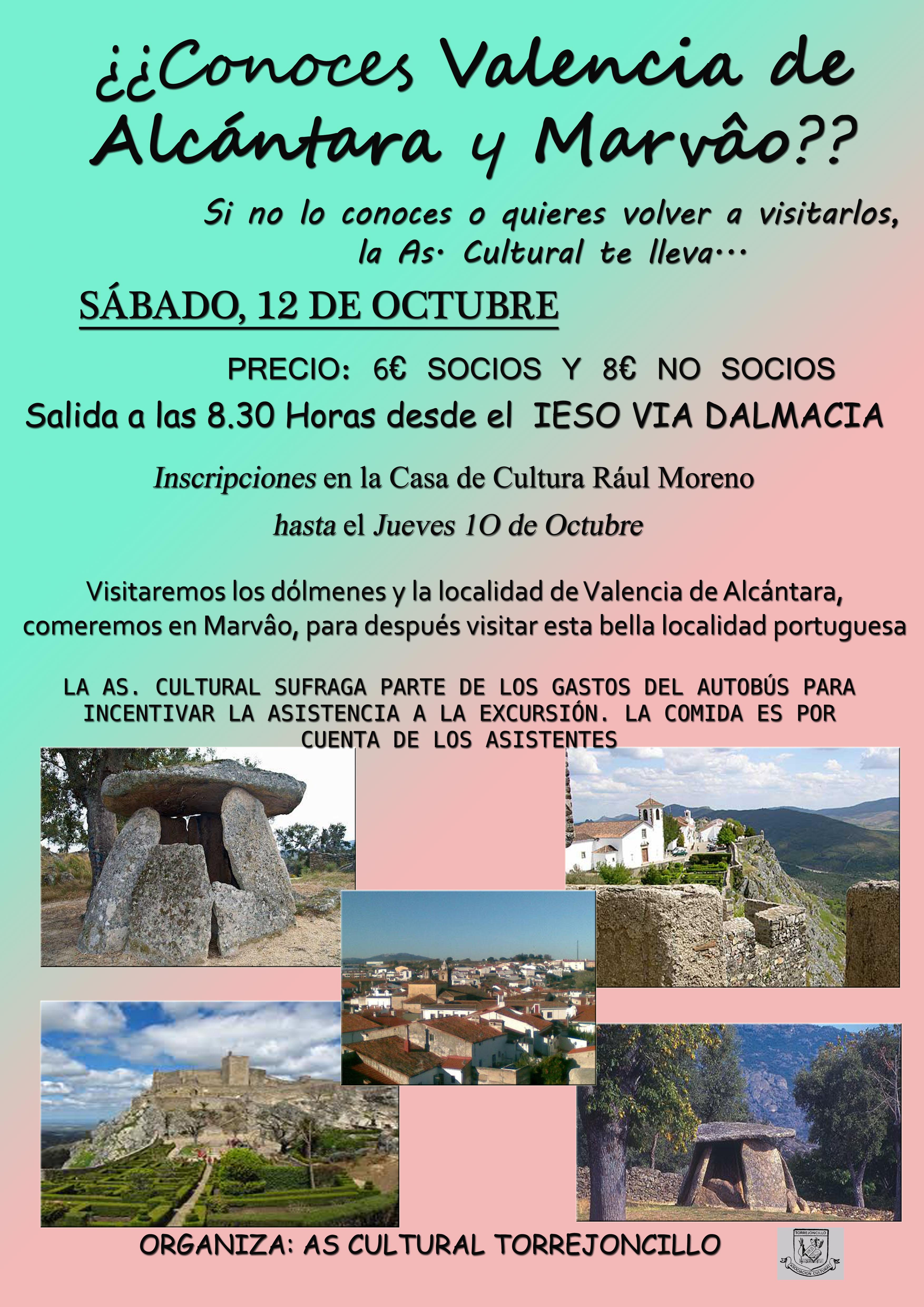 Excursión a Valencia de Alcántara y Marvâo de la Asociación Cultural de Torrejoncillo