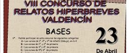 VIII CONCURSO RELATOS HIPERBREVES VALDENCIN