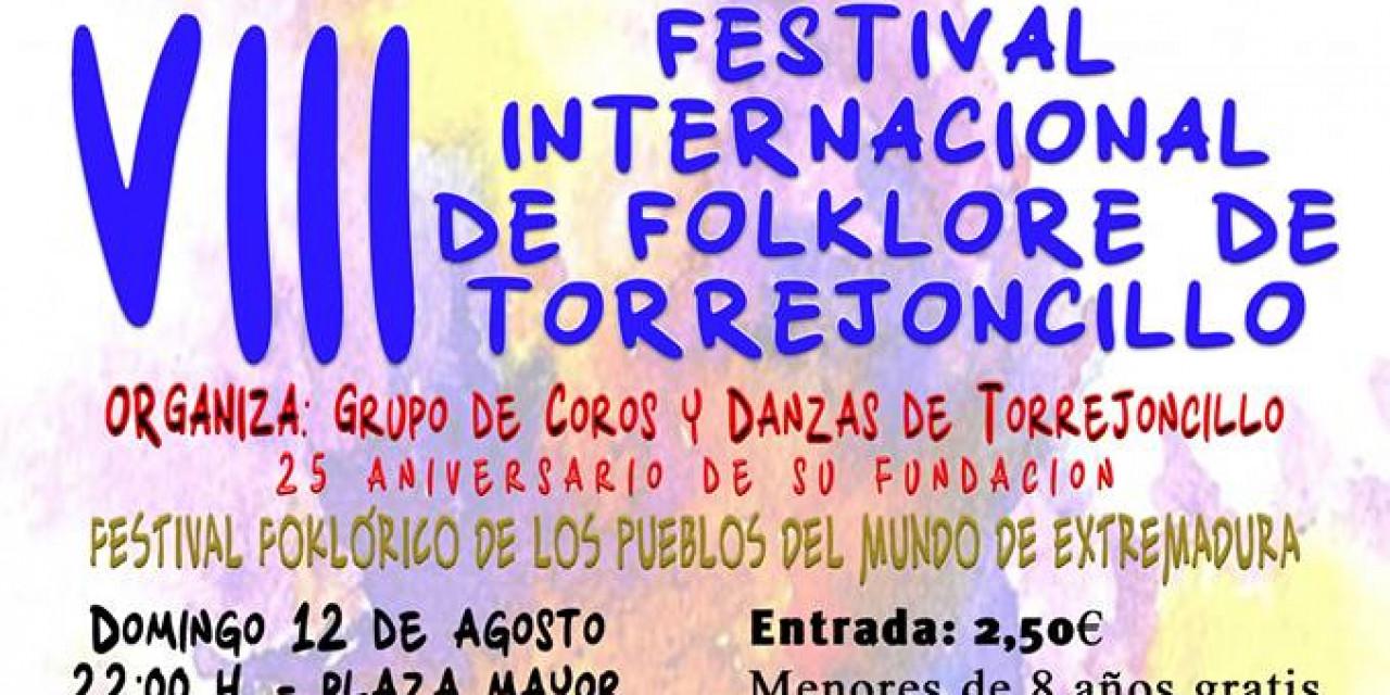 VIII Festival Internacional de Folklore de Torrejoncillo