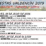Fiestas de Valdencin 2019