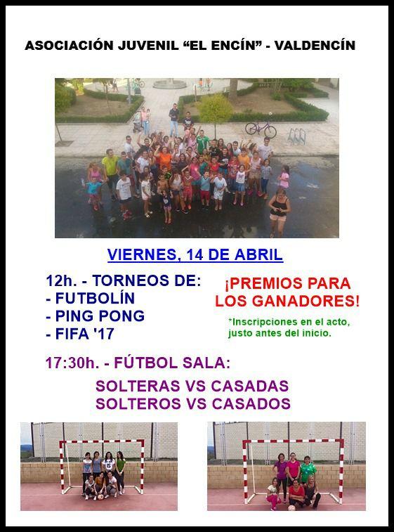 Deportes para Semana Santa en Valdencín