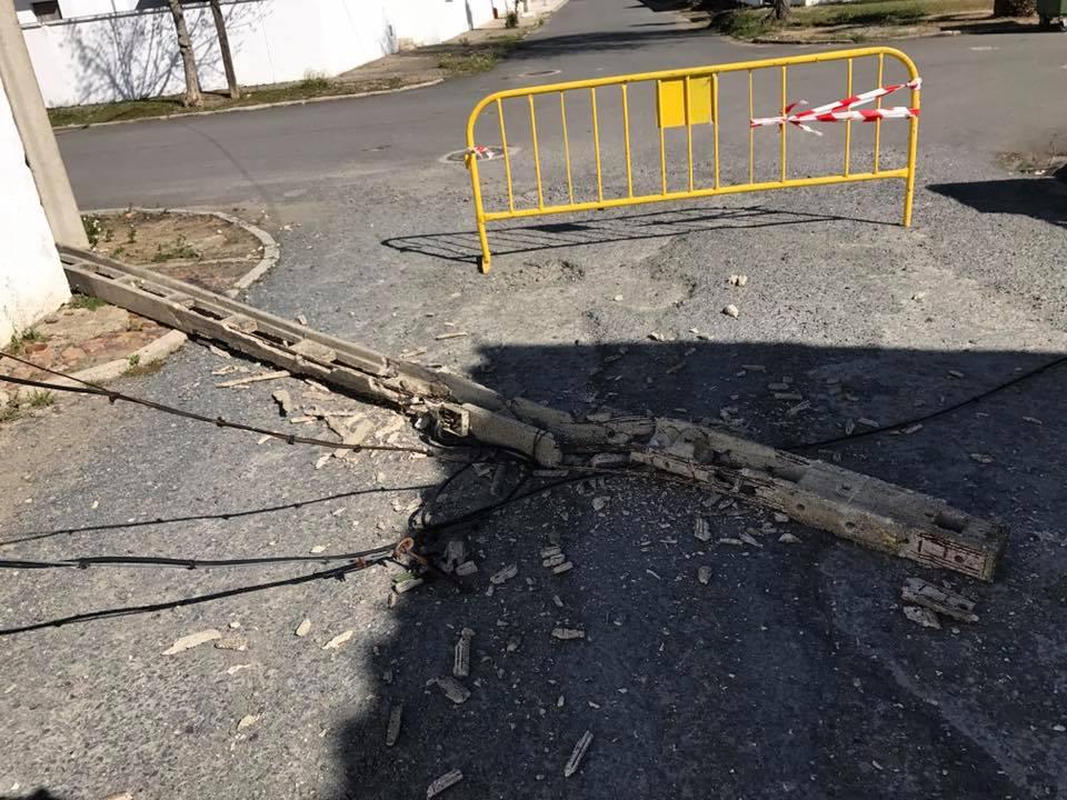 El viento sigue produciendo desperfectos en nuestra localidad