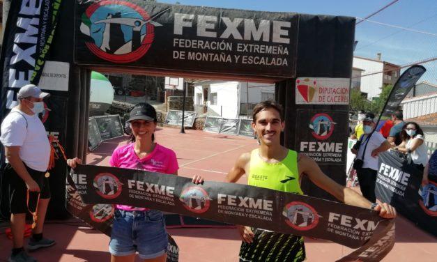 Mario Mirabel y Elizabeth Vaquero reinan en Crono Asperillas