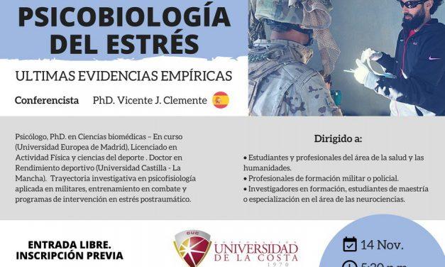 Conferencia de Vicente Clemente en Colombia