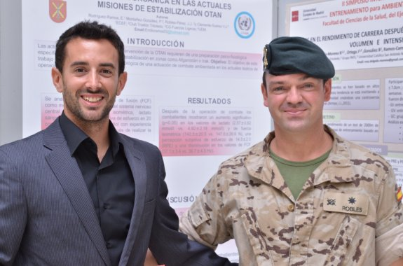 El torrejoncillano Vicente Clemente realiza un estudio psicofisiológico pionero a una brigada paracaidista