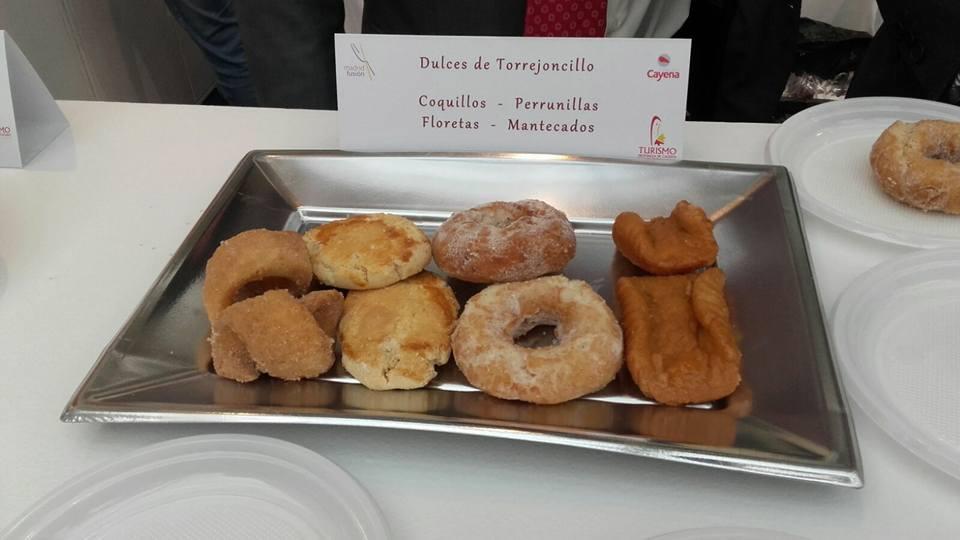 Dulces torrejoncillanos en Madrid Fusión 2017