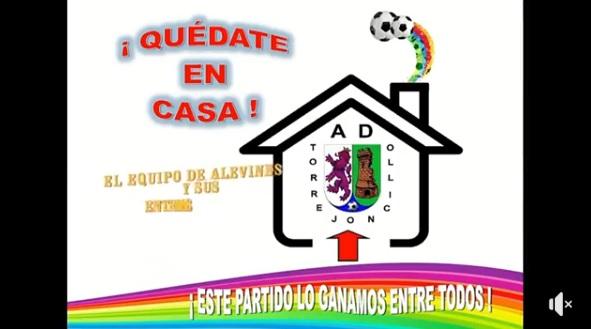 Los equipos del  AD Torrejoncillo se  presentaron  durante la cuarentena