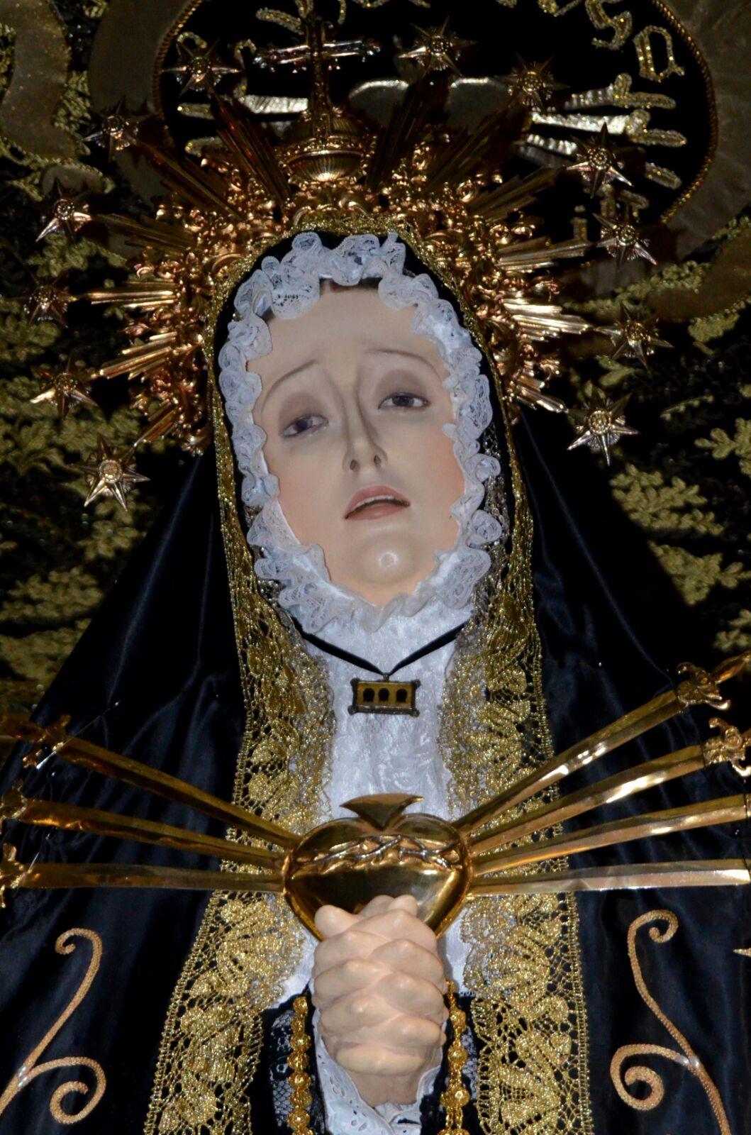 Besamanto de la Virgen de los Dolores