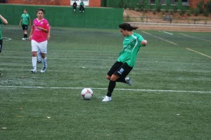 Beatriz Vizcaíno, una futbolista polivalente - CEDIDA