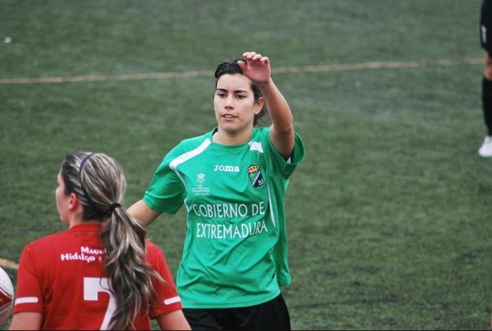 Beatriz Vizcaíno disputa esta semana el C.E.U. de Fútbol 7 por quinto año consecutivo