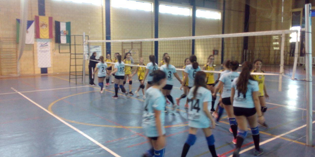 Finde intenso de voleibol en Torrejoncillo y Valdencín