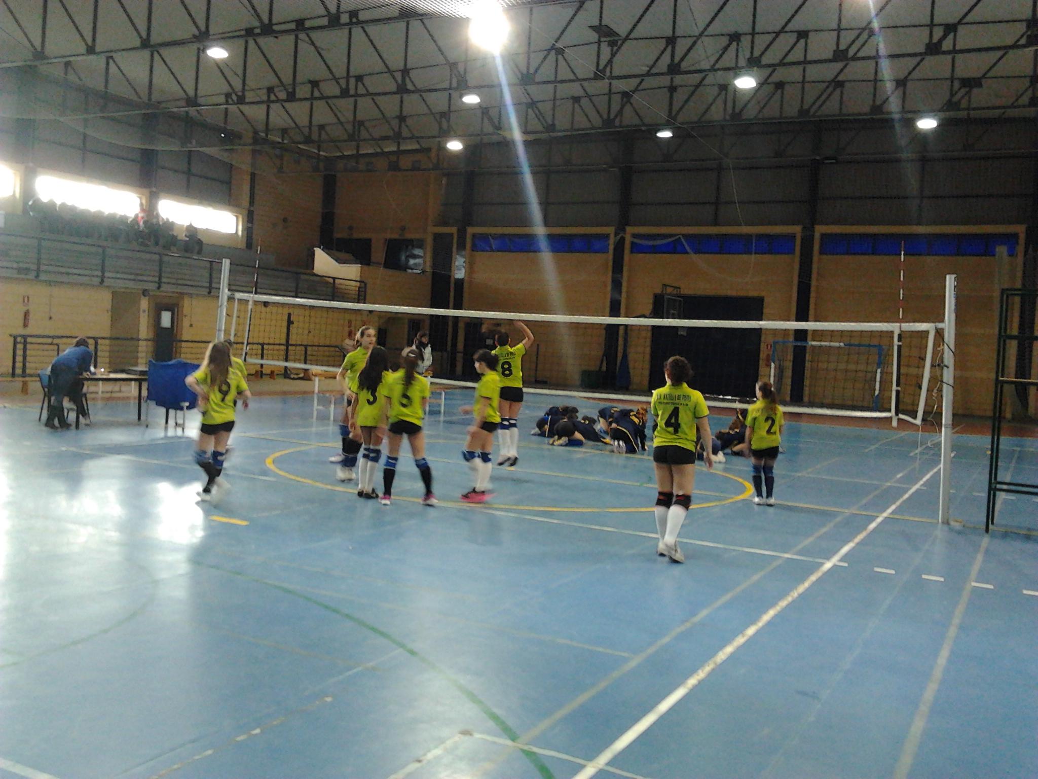 Clinic de Voleibol en el Pabellón Municipal de Torrejoncillo