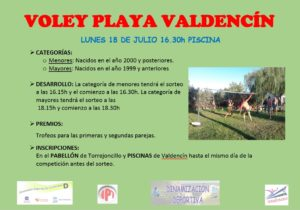 Voley Playa Valden