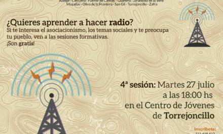 ¿Quieres aprender a hacer radio?