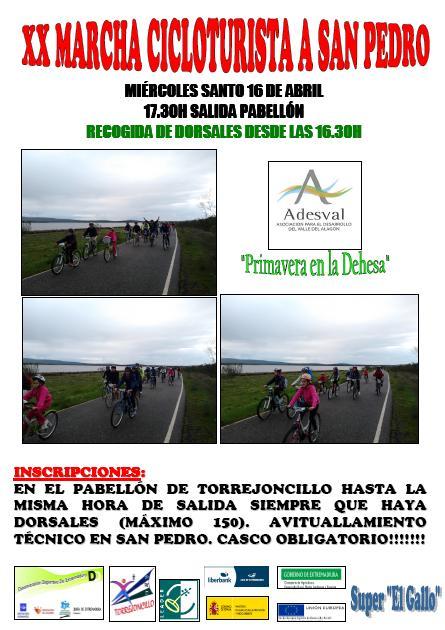 XX Edición Marcha Cicloturista a San Pedro
