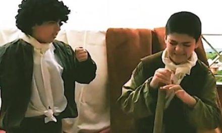 """""""Duelo a garrotazos"""" de Francisco Goya por Yago González."""