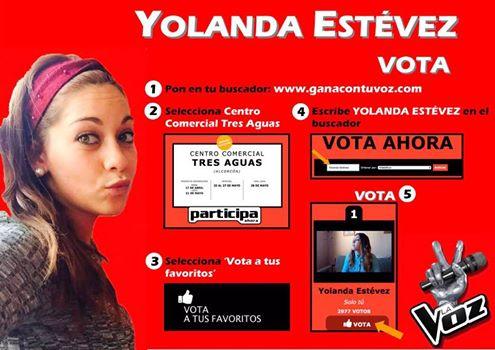 Vota por una Torrejoncillana en La Voz de Telecinco